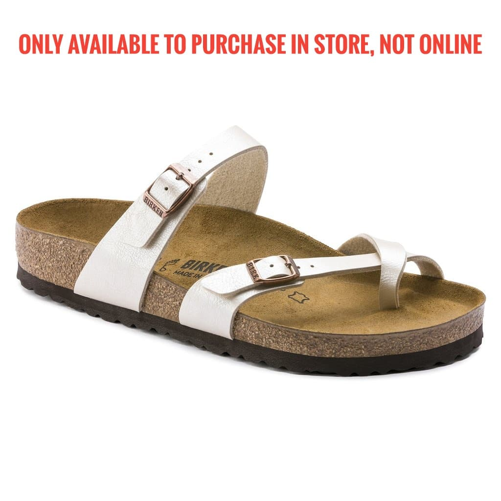 Birkenstock Mayari Pearl White BF Graceful 071661