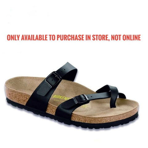 Birkenstock - Mayari - Black Birko Floor 071791 /071793 Narrow (ARRIVING END OF APRIL)