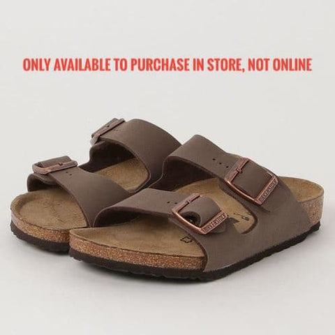 BIRKENSTOCK ARIZONA KIDS (30-34 MOCHA)