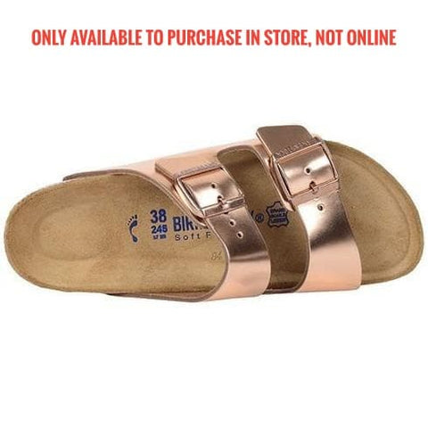 Birkenstock Arizona-SOFT, Metallic Copper, LTR 952091