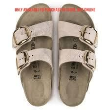Birkenstock Big Buckle , washed metallic rose gold (Narrow fit) 1012882