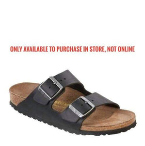 Birkenstock Arizona BF- (Narrow) - Black  0051793, 51793 WOMENS SIZES