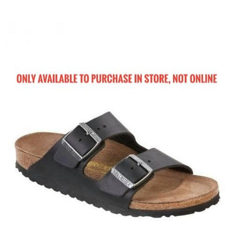Birkenstock - Arizona - Black Leather - MENS - 00552111 (41-46)