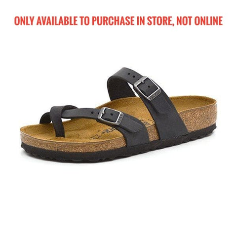Birkenstock - Mayari - Black Oiled LEATHER 1009922 / 0171481