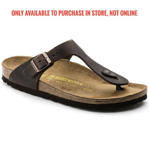 Birkenstock - Gizeh - Havana - Oiled-Leather (0743831) 743831