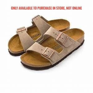 Birkenstock Arizona Taupe suede - 51463 - NARROW FIT