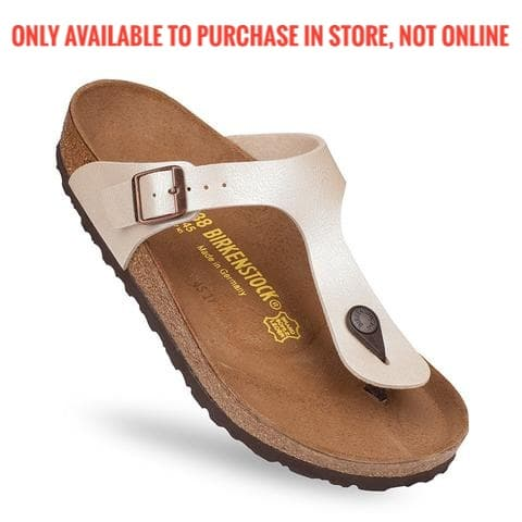 Birkenstock - Gizeh - Pearl White - BF-Graceful 0943871, 943871