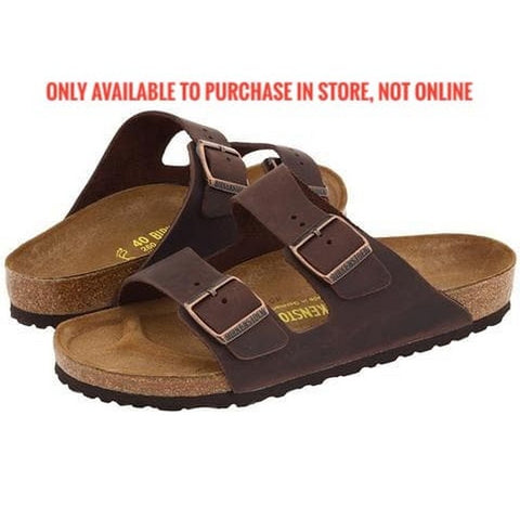 Birkenstock  - Arizona - Havana - Oiled Leather 052531(MENS)