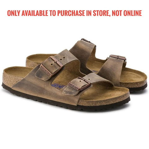 Birkenstock Arizona soft Oiled Leather Tobacco 552811