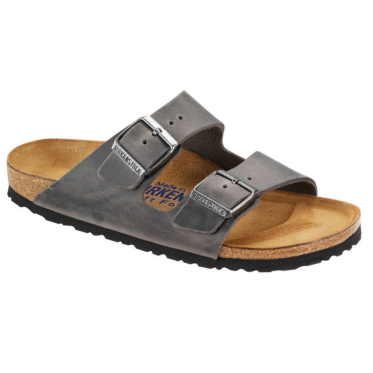 Birkenstock Arizona soft Oiled Leather Iron 552801, 0552801