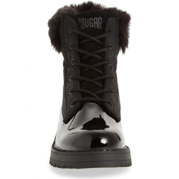 Cougar Gatineau- Black Patent - WATERPROOF