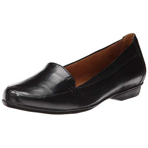 Naturalizer Saban Slip on loafer- Black