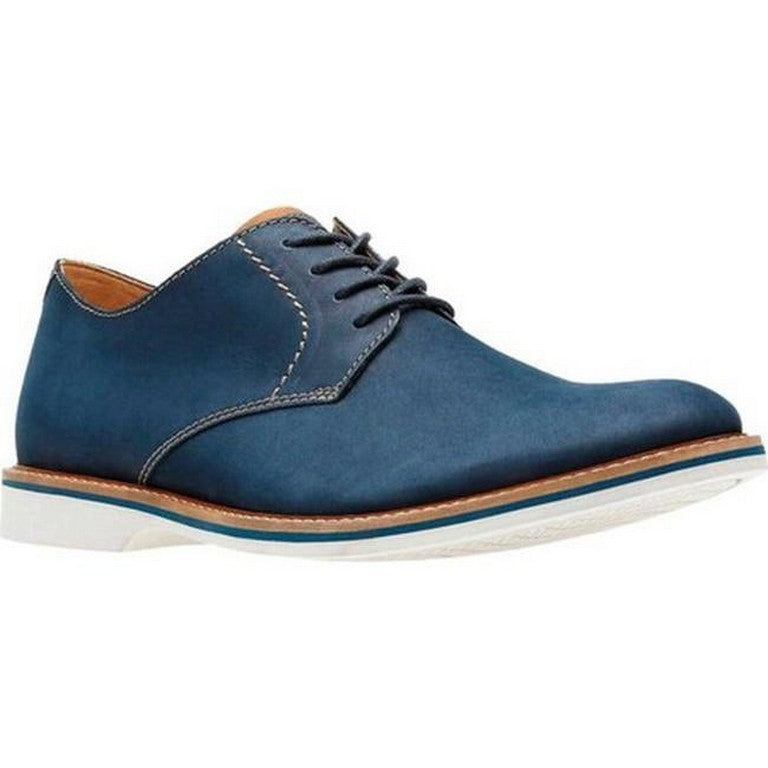 Clarks Atticus Lace Navy Leather