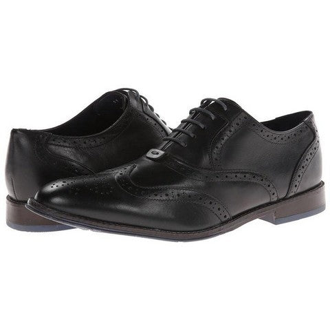 Hush Puppies Style Brogue (Blk/Grey)