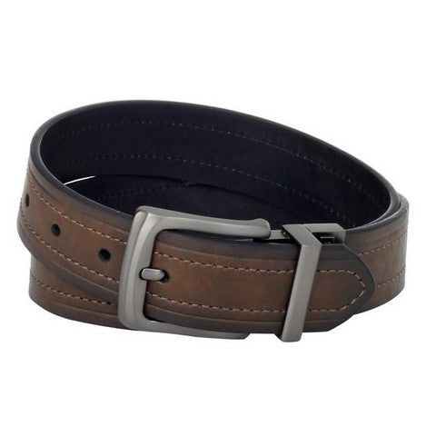 Work - Levi - Belt - Black & Brown - Reversible Leather