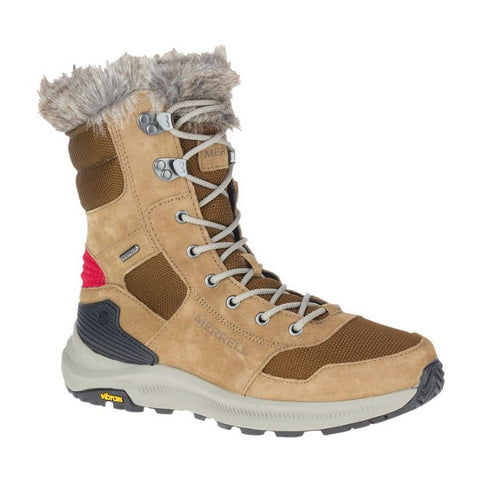 MERRELL - ONTARIO TALL PLR WATER PROOF - CAMEL