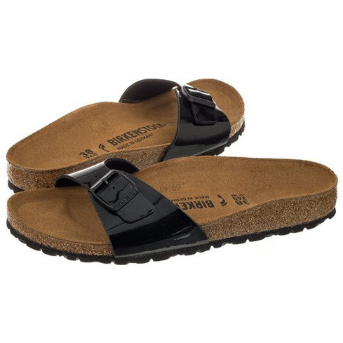 Birkenstock Madrid BF Black Patent (Narrow) 040303