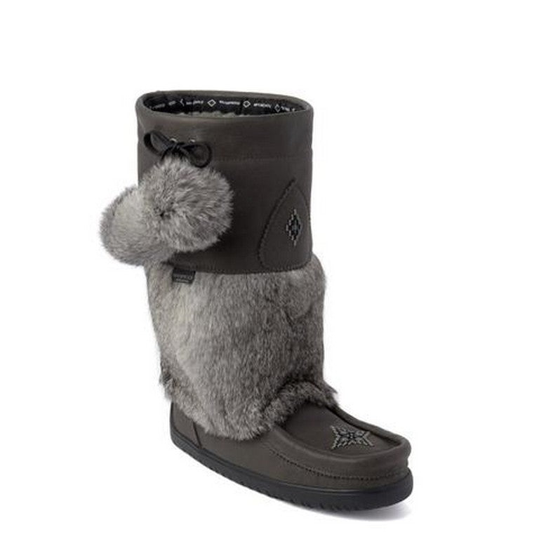 Manitobah Mucklucks Snowy owl Grain Leather - WATERPROOF