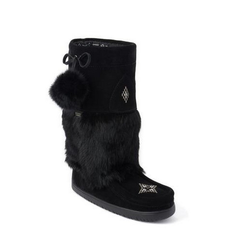 Manitobah Mucklucks Snowy Owl - WATERPROOF - Black