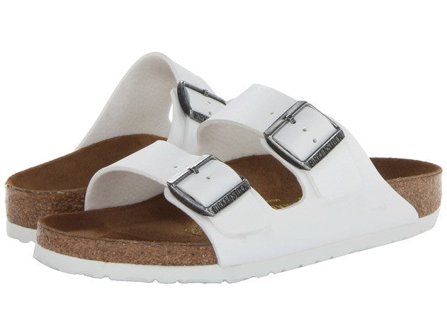 Birkenstock - Arizona - White 051131 Leather