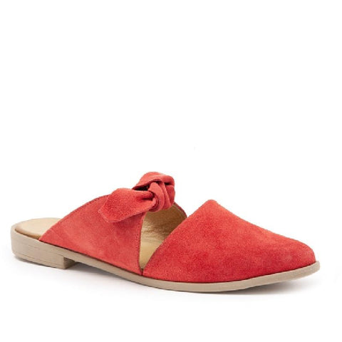 Bueno Bowery Suede - Pomegranite