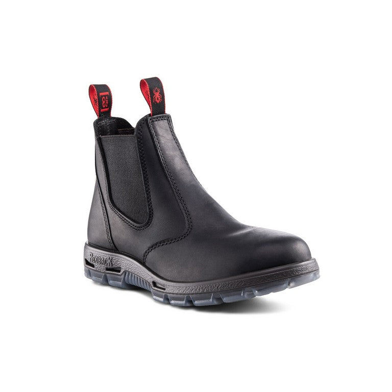 Redback Bobcat UBBK Work boot  - Black oiled leather  UK sizing