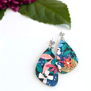 Wild & Bright Large Ball Point Dangle Earrings