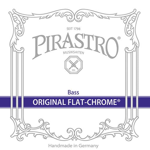 Pirastro Original Flat-Chrome Bass Strings