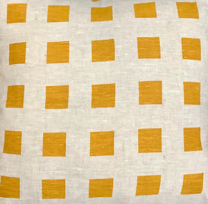 Checkers Golden Cushion