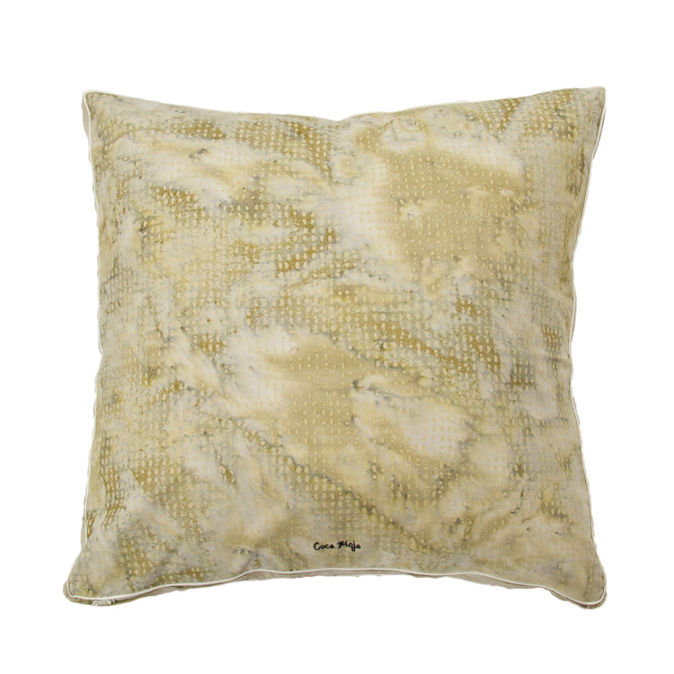 Coca Mojo 'Old Moss Tiny Rice' Cushion