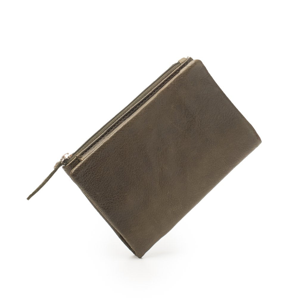 Dusky Leather Purse