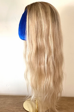 Load image into Gallery viewer, Natural Blonde Full Lace Wig