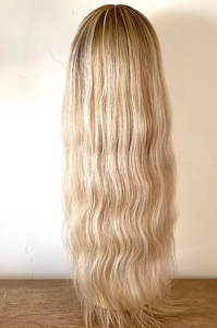 Natural Blonde Full Lace Wig