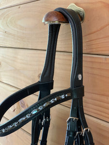 Otto Schumacher Brown Padded Comfort Bridle Limited Edition