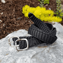 Load image into Gallery viewer, Herm Sprenger®Braided Perlon Spur Strap - 17 3/4""