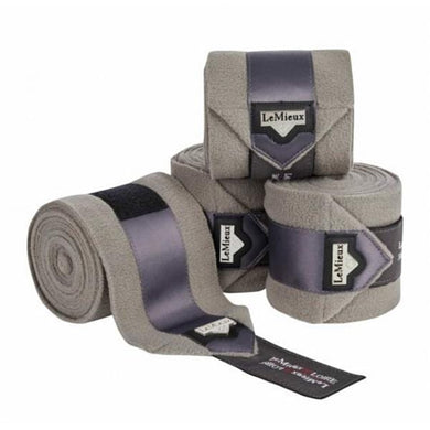 LeMieux Loire Polo Wraps - Grey