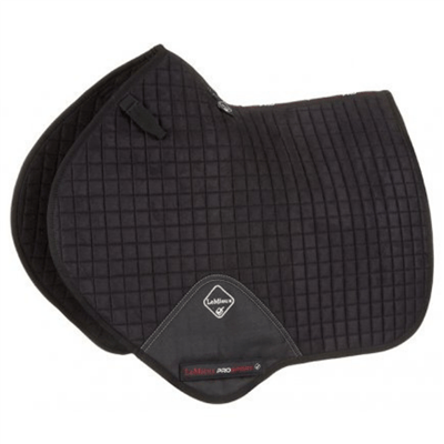 LeMieux Prosport Suede Close Contact Pad - Black
