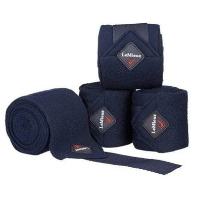 LeMieux Luxury Polo Wraps - Navy