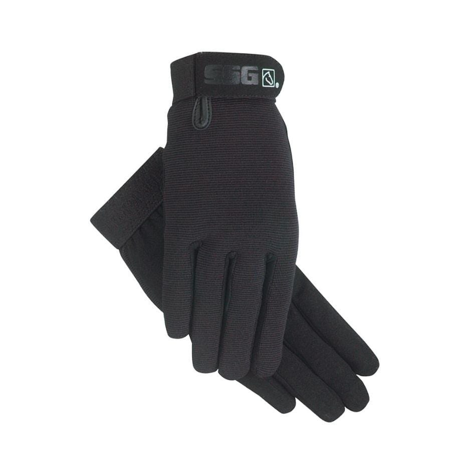 SSG universal riding glove in black