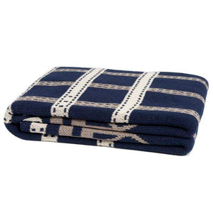 Eco Equestrian Stirrup Throw Marine