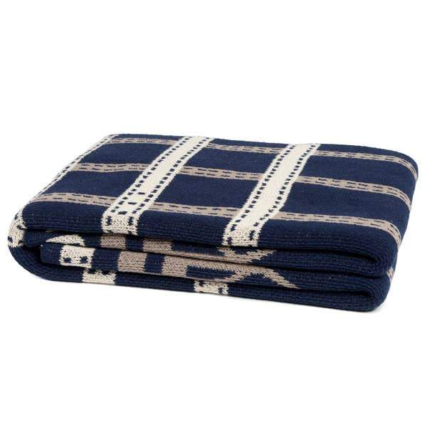 Eco Equestrian Stirrup Throw - Marine