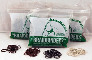 Braid Binder Rubberbands