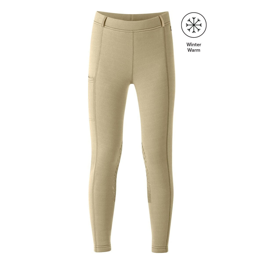Kerrits Juniors Power Stretch Insulated Knee Patch Breech