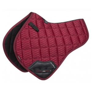 LeMieux Carbon Mesh Shaped Close Contact Pad - Mulberry