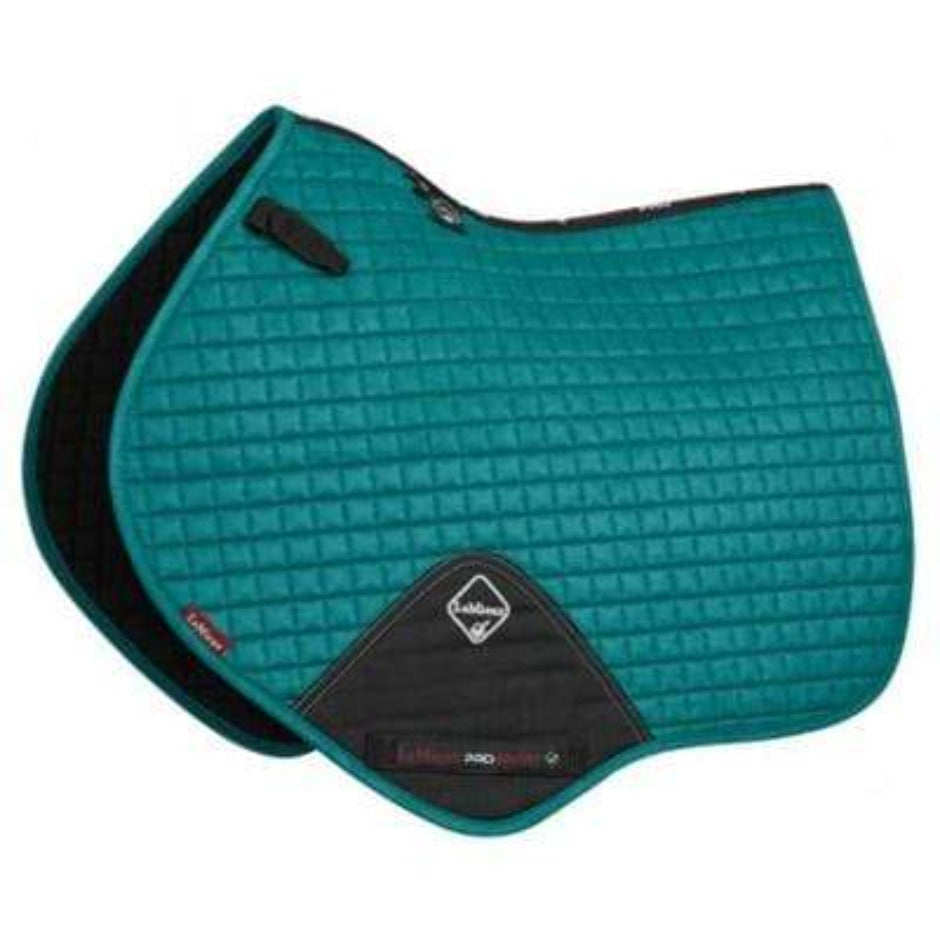 LeMieux Prosport Suede Close Contact Pad - Peacock