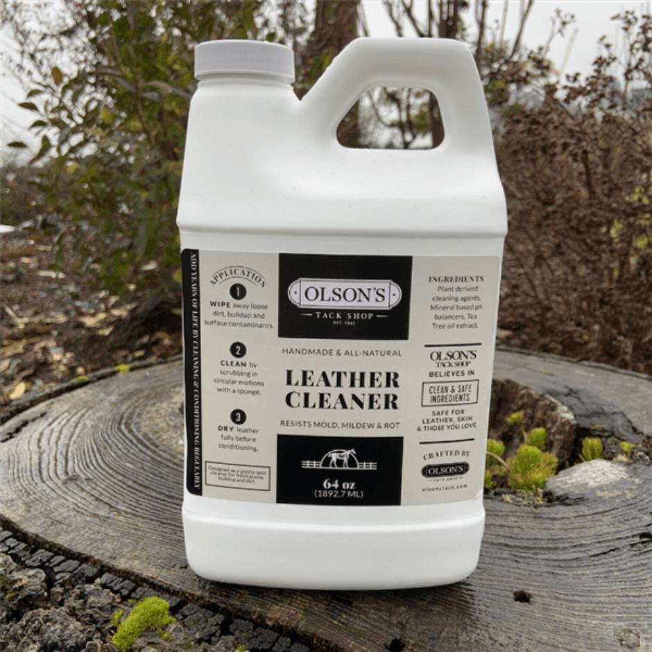 Olson's Leather Cleaner - 64oz