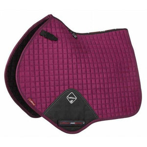 LeMieux Prosport Suede Close Contact Pad - Plum