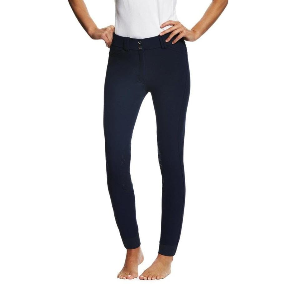 Ariat Tri Factor Knee Patch Breech Navy
