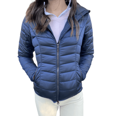 equestrian stockholm light-weight jacket - classic navy