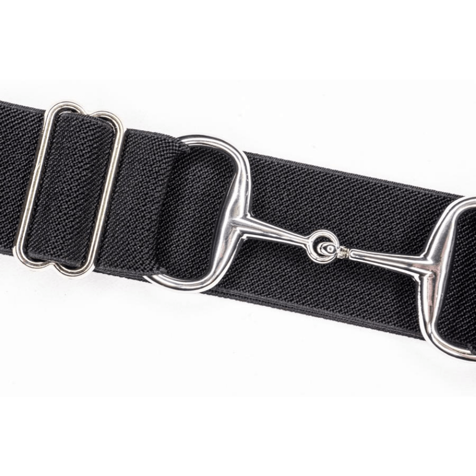 black and silver ellany belt